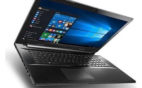 Notebook Lenovo B70-80 (80MR02KTCK) černý Software Microsoft Office 365 pro jednotlivce CZ ESD licence (zdarma)Software F-Secure SAFE 6 měsíců pro 3 zařízení (zdarma)Monitorovací software Pinya Guard - licence na 6 měsíců (zdarma) + Doprava zdarma