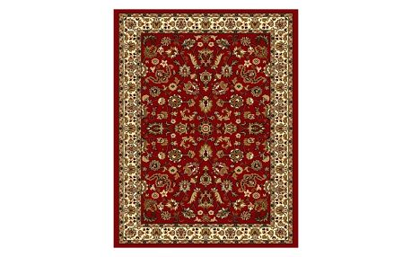Spoltex Kusový koberec Samira 12002 red, 120 x 170 cm