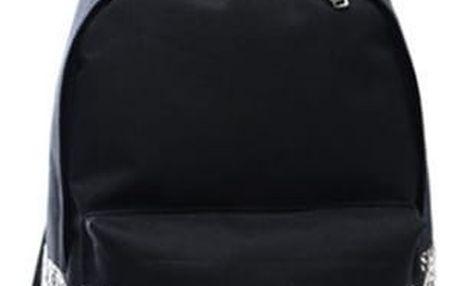 Černý dámský batoh s neobvyklými vzory - varianta 2 - dodání do 2 dnů
