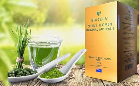 To nejlepší pro zdraví: ječmen BIOCELA® originál