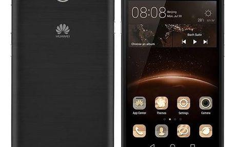 Mobilní telefon Huawei Y5 II Dual Sim (SP-Y5IIDSBOM) černý Software F-Secure SAFE 6 měsíců pro 3 zařízení (zdarma)