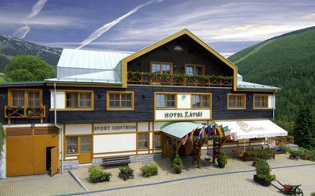 Hotel Zátiší se vstupem do wellness, polopenzí a dětmi do 6 let zdarma