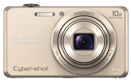 Digitální fotoaparát Sony DSC-WX220 zlatý
