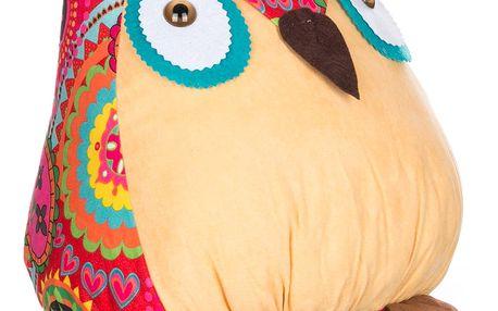 Dekorativní polštář GodoDo sova velká