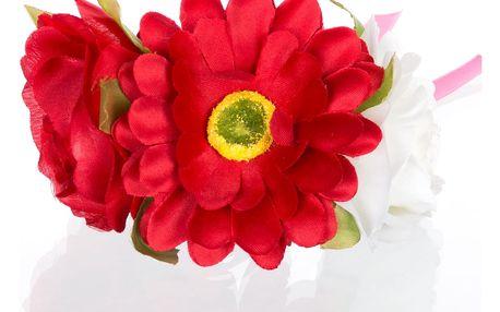 Slavnostní náramek květiny