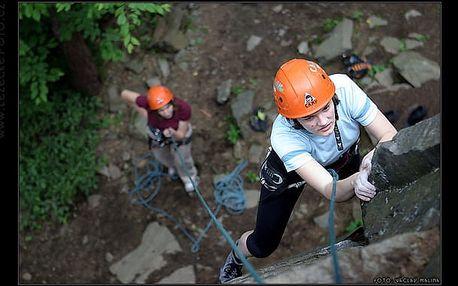 Jednodenní kurz horolezectví na skalách -Srbsko u Berouna