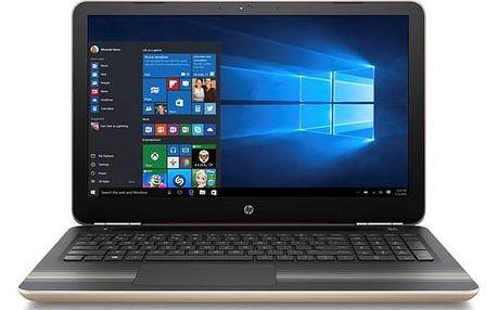 Notebook HP Pavilion 15-aw019-nc (Y5K23EA#BCM) zlatý Software Microsoft Office 365 pro jednotlivce CZ ESD licence (zdarma)Software F-Secure SAFE 6 měsíců pro 3 zařízení (zdarma)Monitorovací software Pinya Guard - licence na 6 měsíců (zdarma) + Doprava zda