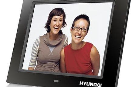 Elektronický fotorámeček Hyundai LF 817 MULTI černý