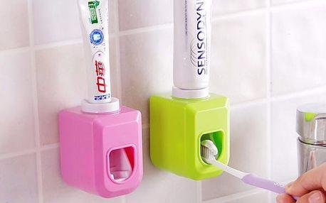 Automatický dávkovač zubní pasty - 4 barvy