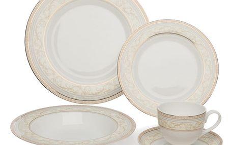 20dílná sada nádobí z kostního porcelánu Sabichi Decal - doprava zdarma!