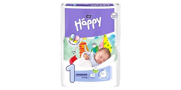 Plenky Bella Baby Happy New Born 42 ks