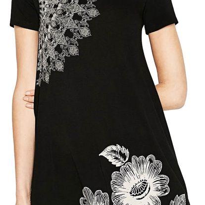 Desigual černé šaty Maribel