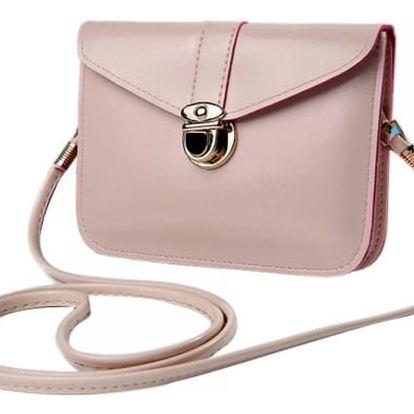 Dámská mini kabelka přes rameno - béžová