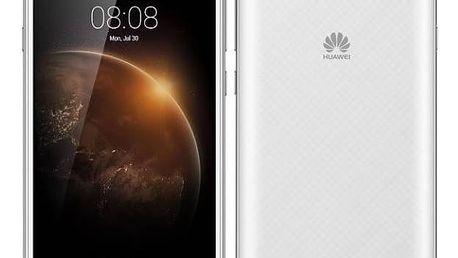 Mobilní telefon Huawei Y6 II Compact Dual SIM (SP-Y6IICDSWOM) bílý SIM s kreditem T-Mobile 200Kč Twist Online Internet (zdarma)Software F-Secure SAFE 6 měsíců pro 3 zařízení (zdarma) + Doprava zdarma