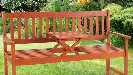 Záhradná lavica piknik D1013 Dekorhome