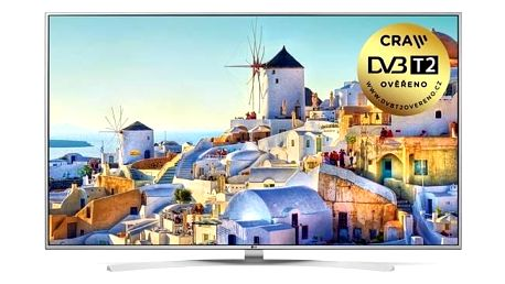 Televize LG 65UH7707 stříbrná + Doprava zdarma