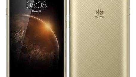 Mobilní telefon Huawei Y6 II Compact Dual SIM (SP-Y6IICDSGOM) zlatý SIM s kreditem T-Mobile 200Kč Twist Online Internet (zdarma)Software F-Secure SAFE 6 měsíců pro 3 zařízení (zdarma) + Doprava zdarma