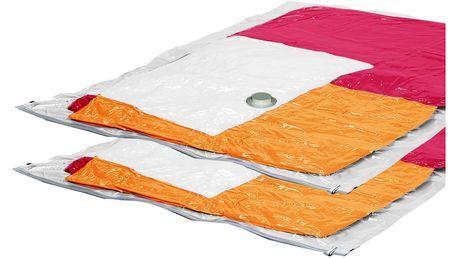 Sada 2 vakuových pytlů na oblečení Ordinett Jumbo, 80x120cm - doprava zdarma!