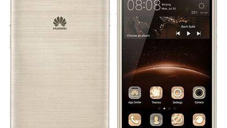Mobilní telefon Huawei Y5 II Dual Sim (SP-Y5IIDSGOM) zlatý Software F-Secure SAFE 6 měsíců pro 3 zařízení (zdarma) + Doprava zdarma