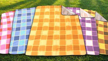 Piknikové deky s alu fólií