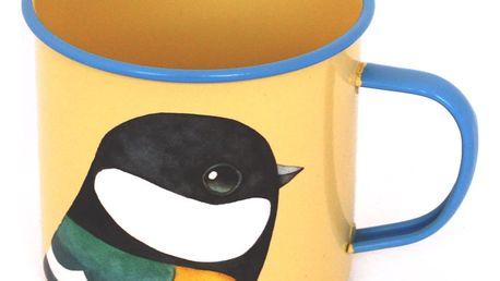 Hrnek Gift Republic Yellow Bird - doprava zdarma!