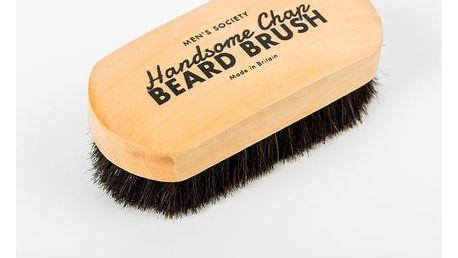 Kartáč na vousy z koňských žíní Men's Society Beard - doprava zdarma!