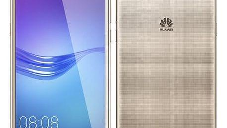 Mobilní telefon Huawei Y6 2017 Dual SIM (SP-Y617DSGOM) zlatý
