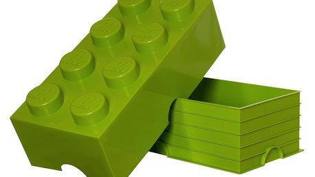 Limetkový úložný box LEGO® - doprava zdarma!