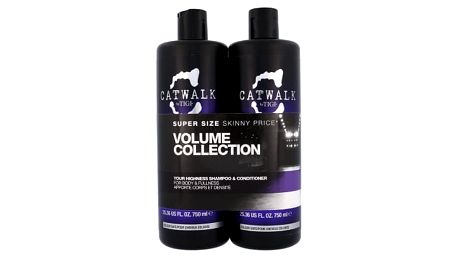 Tigi Catwalk Your Highness dárková kazeta pro ženy šampon 750 ml + kondicionér 750 ml