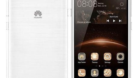 Mobilní telefon Huawei Y5 II Dual Sim (SP-Y5IIDSWOM) bílý