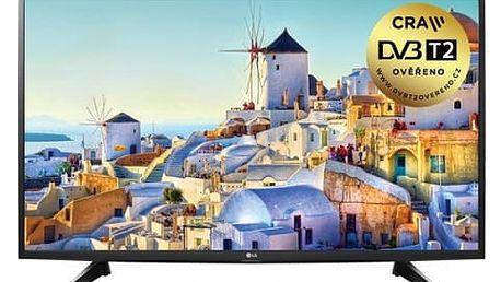 Televize LG 49LH590V černá