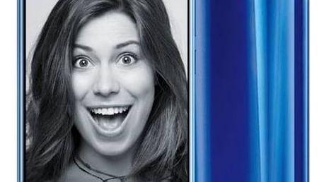 Mobilní telefon Honor 9 Dual SIM 64 GB (51091TBG) modrý SIM s kreditem T-Mobile 200Kč Twist Online Internet (zdarma)Software F-Secure SAFE 6 měsíců pro 3 zařízení (zdarma) + Doprava zdarma
