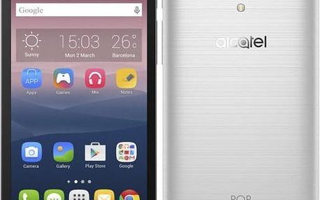 Alcatel POP 4+ OT-5056D, stříbrná