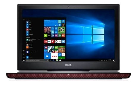 Notebook Dell Inspiron 15 Gaming 7000 (7566) (N-7566-N2-712K) černý Monitorovací software Pinya Guard - licence na 6 měsíců (zdarma)Software Microsoft Office 365 pro jednotlivce CZ ESD licence (zdarma)Software F-Secure SAFE 6 měsíců pro 3 zařízení (zdarma