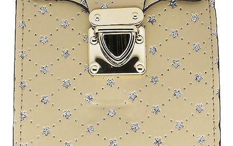 Fashion Icon Kabelka třpytivá s prošívaným vzorem