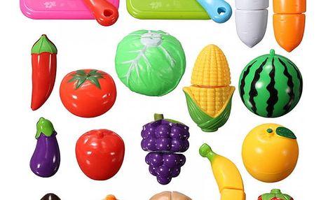 Sada plastových hraček - ovoce - 20 ks