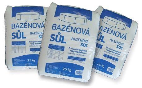 Marimex Bazénová sůl Marimex - 3 x 25 kg - 113060012