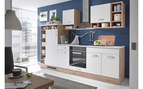Kuchyňský blok madeira, 290/206/60 cm