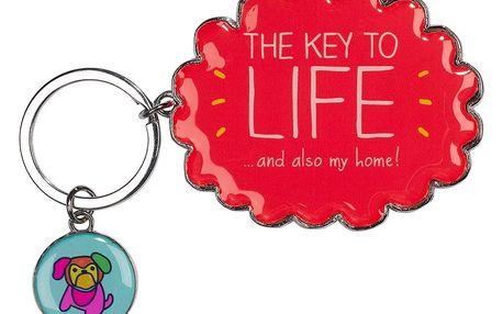 Klíčenka Happy Jackson Key To Life - doprava zdarma!