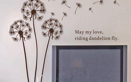 Samolepka Ambiance Dandelion Flowers - doprava zdarma!