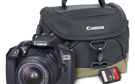 Digitální fotoaparát Canon EOS 1300D černý