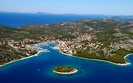 8denní pobyt v hotelu Riviera pro 1 osobu v Chorvatsku