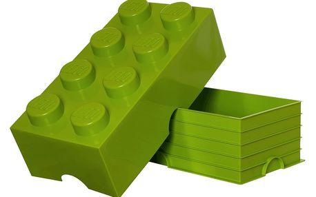 LEGO Storage box 25x50 cm, světle zelená