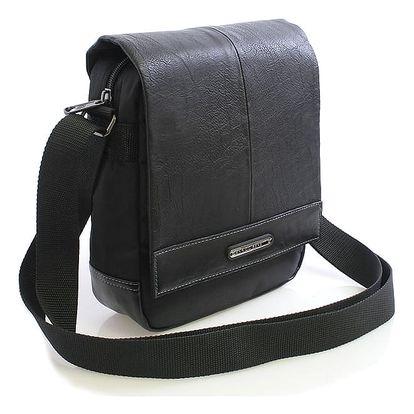 Černá taška na doklady Enrico Benetti 4481 černá