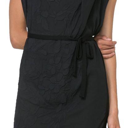Desigual černé šaty Ecuador
