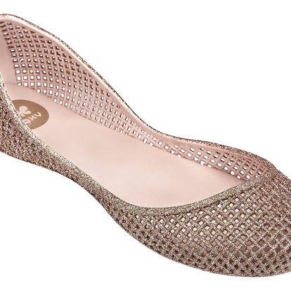Zaxy růžové balerínky Amora Fem Light Pink