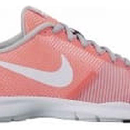 Dámské fitness boty Nike WMNS FLEX BIJOUX 38 LAVA GLOW/WHITE-WOLF GREY-BLAC
