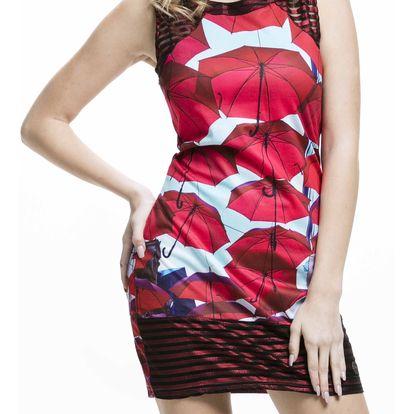 Culito from Spain barevné šaty Paraguas