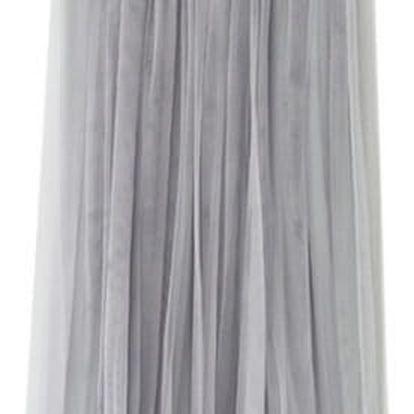 Lehká sukně na léto - šedivá