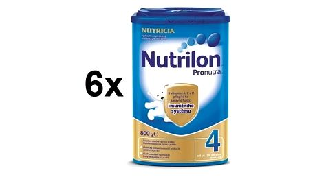Kojenecké mléko Nutrilon 4 Pronutra, 800g x 6ks + Doprava zdarma